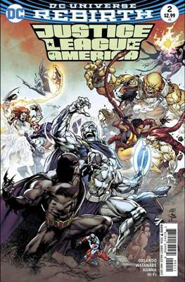 Justice League of America vol. 5 (2017-2018) (Grapa) #2