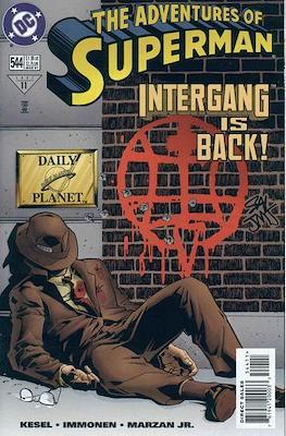 Superman Vol. 1 / Adventures of Superman Vol. 1 (1939-2011) (Comic Book) #544