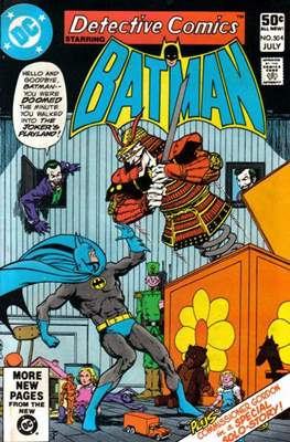 Detective Comics Vol. 1 (1937-2011; 2016-) (Comic Book) #504