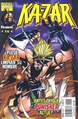 Ka-Zar (1998-1999) (Grapa. 17x26. 24 páginas. Color.) #16