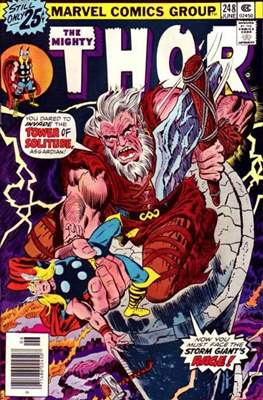 Journey into Mystery / Thor Vol 1 (Comic Book) #248
