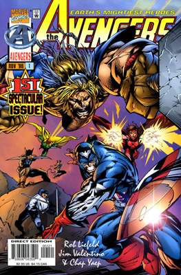 The Avengers Vol. 2 Heroes Reborn (1996-1997 - Variant Covers) (Comic Book) #1.1