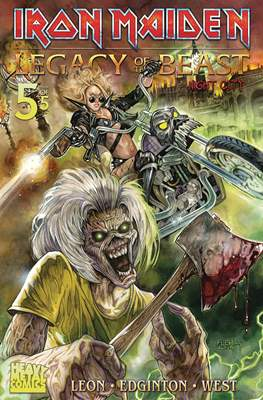 Iron Maiden: Legacy of the Beast - Night City (Comic Book) #5