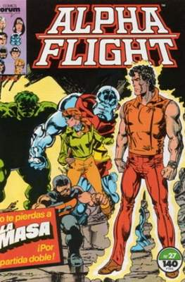 Alpha Flight Vol. 1 / Marvel Two-in-one: Alpha Flight & La Masa Vol.1 (1985-1992) (Grapa 32-64 pp) #27