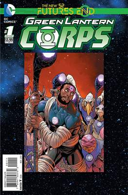 Green Lantern Corps: Futures End