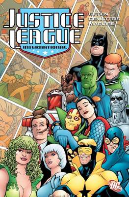 Justice League International (TPB) #3