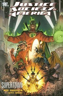 Justice Society of America (2007) (Softcover) #8
