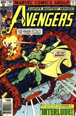 The Avengers Vol. 1 (1963-1996) (Grapa) #194