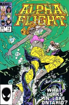 Alpha Flight Vol. 1 (1983-1994) (Comic Book) #14