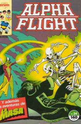 Alpha Flight vol. 1 / Marvel Two-in-one: Alpha Flight & La Masa vol.1 (1985-1992) (Grapa 32-64 pp) #34