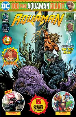 Aquaman DC 100-Page Comic Giant