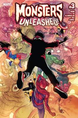 Monsters Unleashed (2017 Variant Cover) (Comic-book) #3