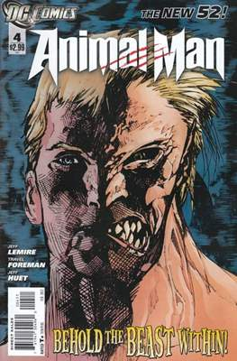 Animal Man Vol. 2 (2011-2014) (Comic Book) #4