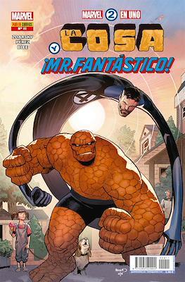 Marvel 2 en Uno: La Cosa y La Antorcha Humana (Grapa) #11