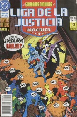 Liga de la Justicia / Liga de la Justicia internacional / Liga de la Justicia de America (1988-1992) (Grapa) #49
