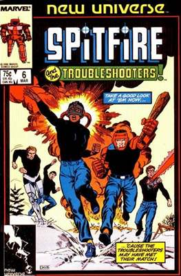 Spitfire and the Troubleshooters / Codename: Spitfire (Comic-book) #6