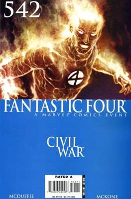 Fantastic Four Vol. 3 (Comic Book) #542