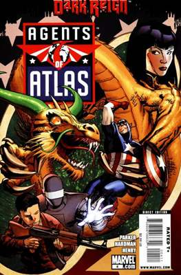 Agents of Atlas Vol. 2 (2009) #4