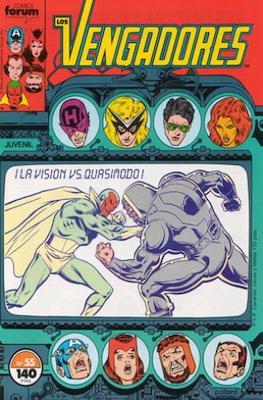 Los Vengadores Vol. 1 (1983-1994) (Grapa) #55