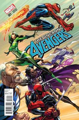 The Uncanny Avengers Vol. 3 (2015-2018 Variant Cover) #1.4