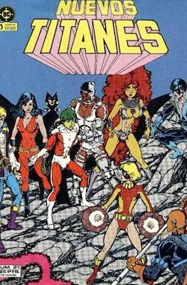 Nuevos Titanes Vol. 1 (1984-1988) (Grapa 40 pp) #21