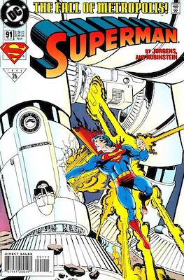 Superman Vol. 2 (1987-2006) (Comic Book) #91