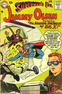 Superman's Pal, Jimmy Olsen / The Superman Family (Comic Book) #29