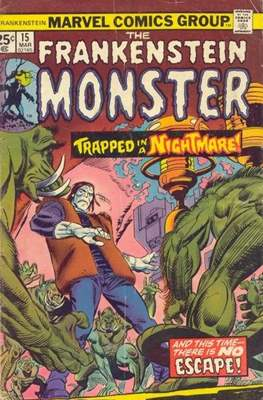 The Frankenstein monster (Grapa) #15