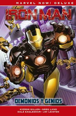Iron Man de Kieron Gillen. Marvel Now! Deluxe #1
