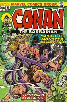 Conan The Barbarian (1970-1993) (Comic Book 32 pp) #32