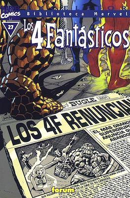 Biblioteca Marvel: Los 4 Fantásticos (1999-2001) (Rústica 160 pp) #27