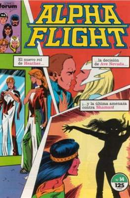 Alpha Flight Vol. 1 / Marvel Two-in-one: Alpha Flight & La Masa Vol.1 (1985-1992) (Grapa 32-64 pp) #14