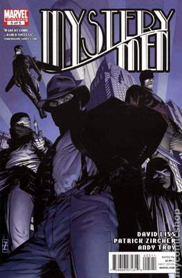 Mystery Men (2011) (Comic books 32 pags) #5