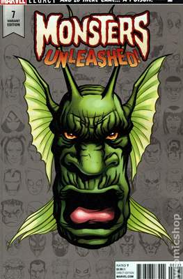 Monsters Unleashed (2017- Variant Cover) (Comic Book) #7.1