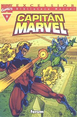 Biblioteca Marvel: Capitán Marvel (2002) (Rústica 160 pp) #9