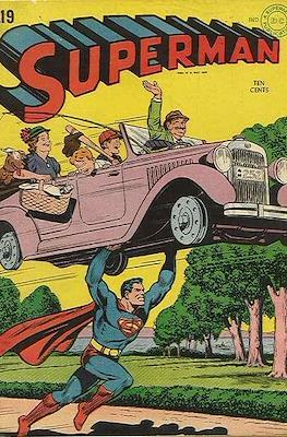 Superman Vol. 1 / Adventures of Superman Vol. 1 (1939-2011) (Comic Book) #19