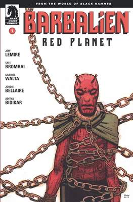 Barbalien: Red Planet (Comic Book) #1