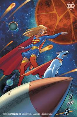 Supergirl Vol. 7 (2016-... Variant Covers) (Comic-book) #23