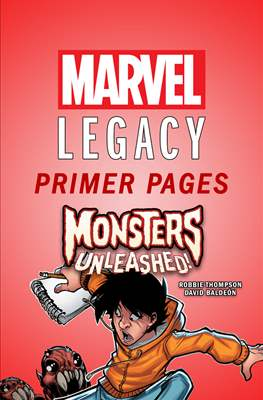 Monsters Unleashed: Marvel Legacy Primer Pages