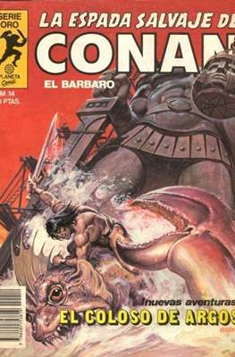 La Espada Salvaje de Conan. Vol 1 (1982-1996) (Grapa. B/N.) #14