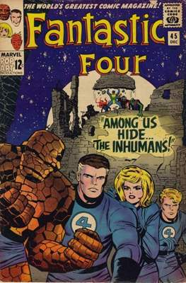 Fantastic Four Vol. 1 (1961-1996) (saddle-stitched) #45