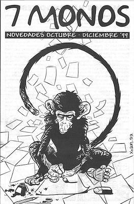 7 Monos. Novedades octubre - diciembre '99