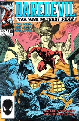 Daredevil Vol. 1 (1964-1998) (Comic Book) #215