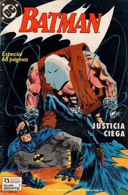 Batman. Justicia ciega (Grapa) #1