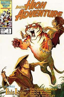Amazing High Adventure (1984-1986) (Comic book 48 pp) #3