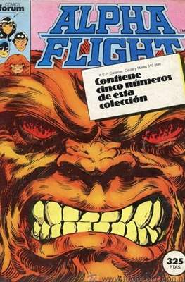 Alpha Flight (Vol. 1) (Retapado Rústica) #0.1