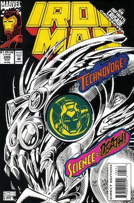 Iron Man Vol. 1 (1968-1996) (Comic book) #295