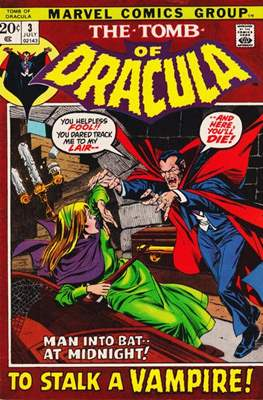 The Tomb of Dracula Vol. 1 (1972-1979) #3