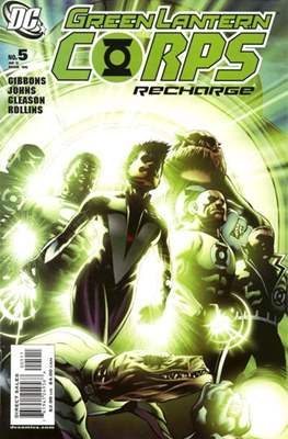 Green Lantern Corps: Recharge (2005-2006) #5