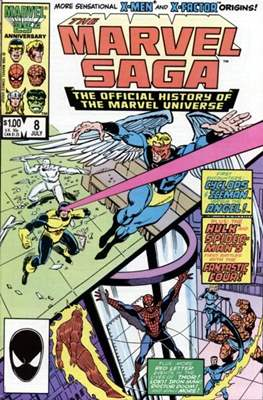 Marvel Saga (Comic-book.) #8